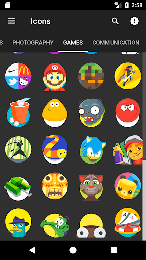 Famver - Icon Pack แอป สำหรับ Android screenshot