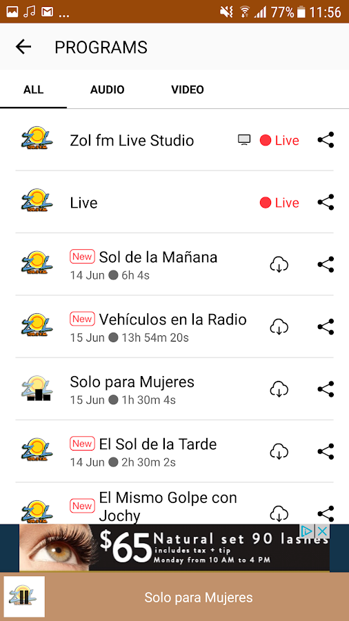 ZOL FM Republica Dominicana- screenshot