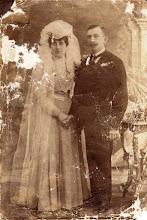 Photo: Szénássy Lýdia, Décsi Bálint, 1900-as évek eleje