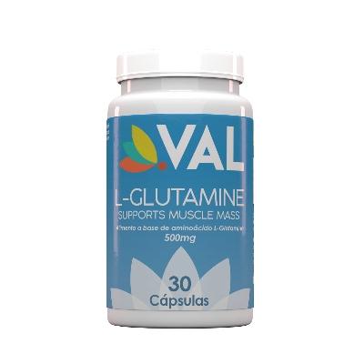 L-GlutaminaVal500 mgx 30 Cápsulas