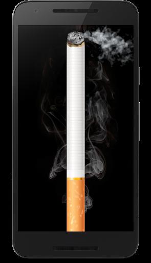 タバコを吸って