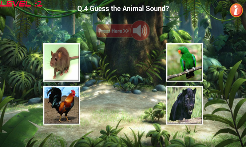 Learn Animal Sounds- screenshot