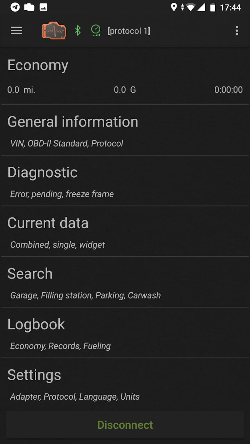 inCarDoc Pro | ELM327 OBD2 Scanner Bluetooth/WiFi Screenshot 0