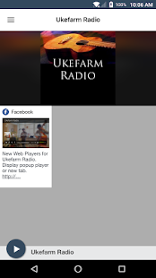 Ukefarm Radio- screenshot thumbnail