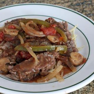 Crock Pot Smothered Steak