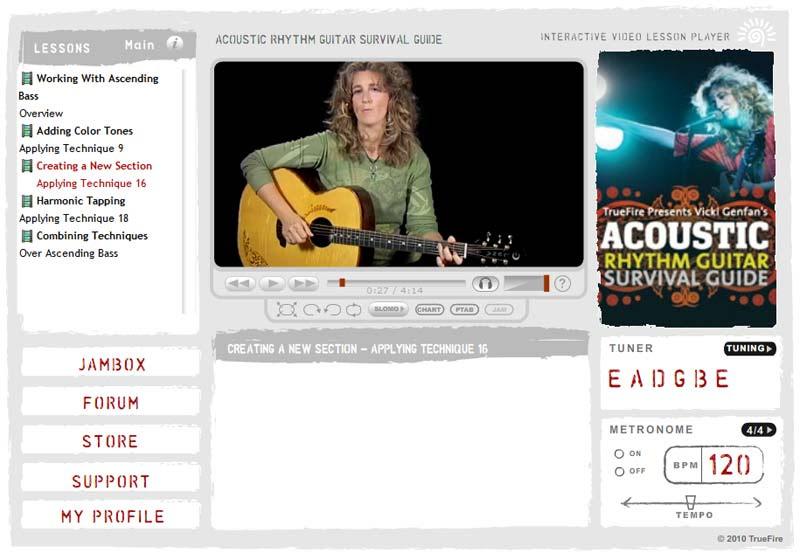 Vicki Genfan - Acoustic Rhythm Guitar Survival Guide