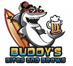 Logo for Buddy's Bites and Brews