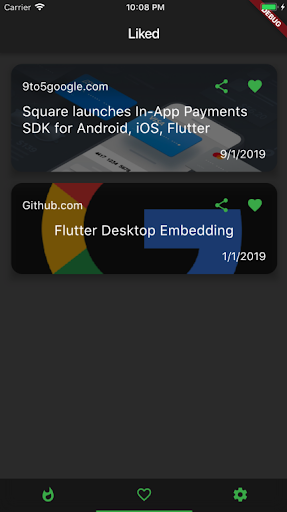 Flutter News screenshot 2
