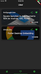 Flutter News APK screenshot thumbnail 1