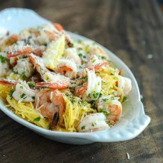 Easy Keto Shrimp Scampi - Low Carb & Gluten Free.