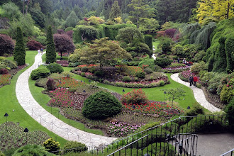 Photo: Butchart Gardens in Victoria http://ow.ly/caYpY