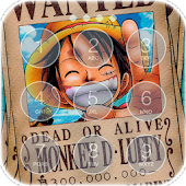 Luffy Monkey D.(モンキー・D・ルフィ) Fan Anime Lock Screen