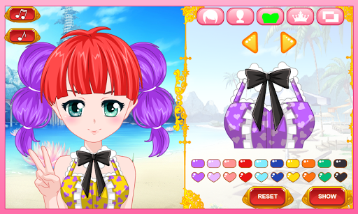 Anime Virtual Character Dress Up Game 2.1 de.gamequotes.net 1