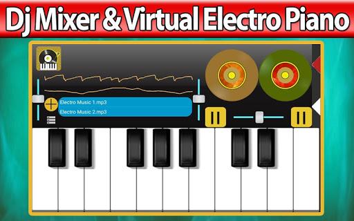 Dj Mixer Virtual Electro Piano