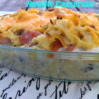 Ham And Noodle Casserole Cream Of Mushroom Soup Recipes.