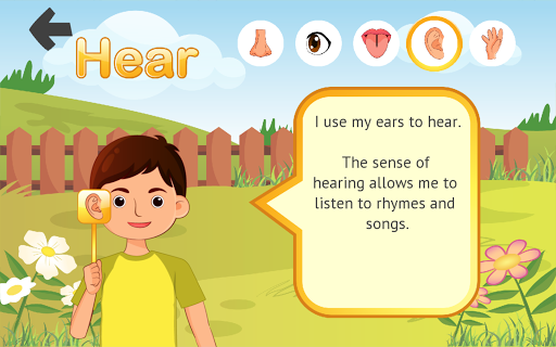 5 Senses for Kindergarten  screenshots 3