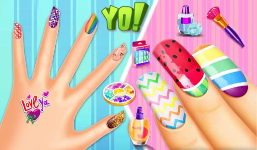 Nail makeup Kit: Fashion doll girls games 2020 apkdebit screenshots 8