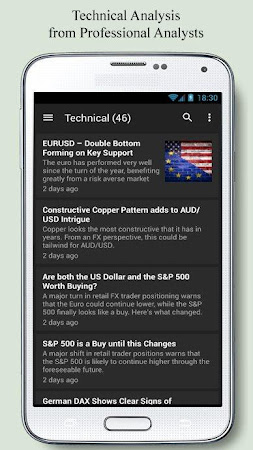 Forex News Anchor 2.4 screenshot 2090867