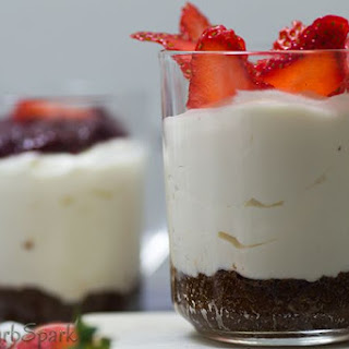 Low Carb No-Bake Cheesecake for One – 5 Minute Keto Dessert Recipe