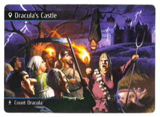 Spyfall: Time Travel Dracula's Castle Location Deck