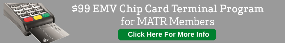 $99 EMV Chip Card Terminal Program for MATR members