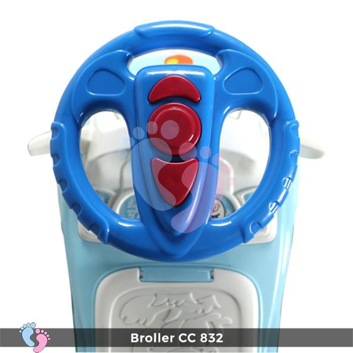 Xe chòi chân Broller CC YH-832 6