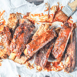 Instant Pot Carolina Style Ribs.