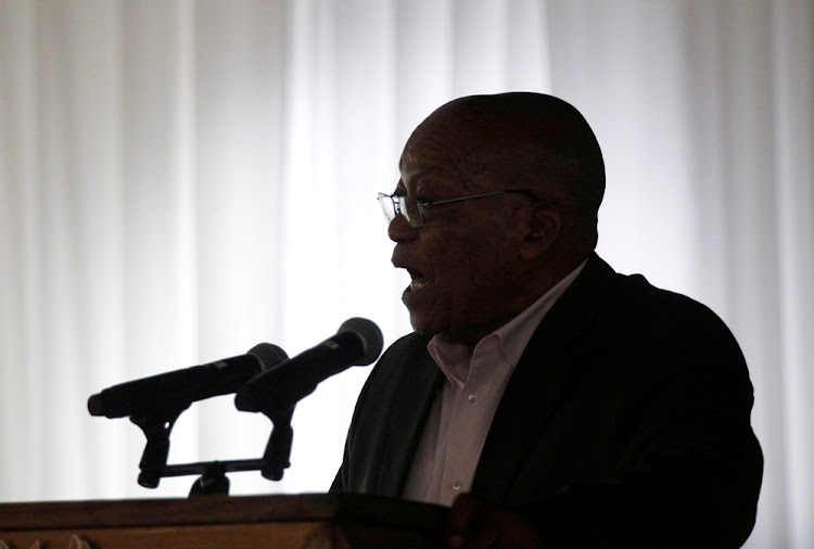Former president Jacob Zuma. Picture: REUTERS/ROGAN WARD