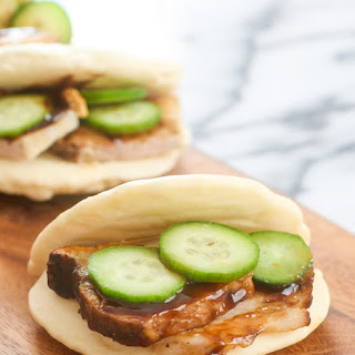 5 Minute Microwave Chinese Buns.