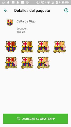 Stickers equipos de futbol español WAStickersApps screenshot 1