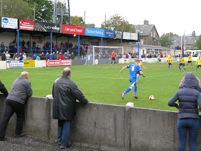 Photo: 13/10/12 v Blyth Spartans (Northern Premier League Premier Division) 2-0 - contributed by Leon Gladwell