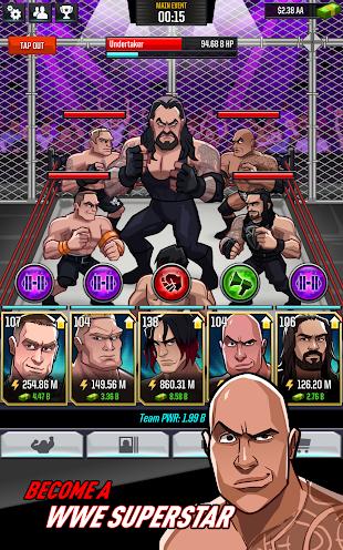 WWE Tap Mania- screenshot thumbnail