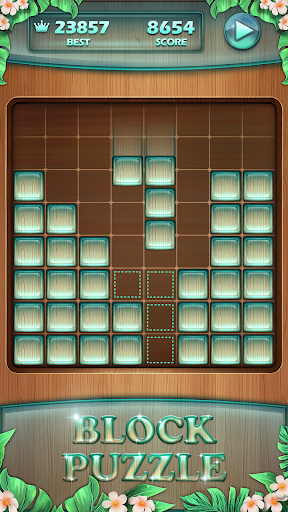 puzzle en bois  captures d'écran 2
