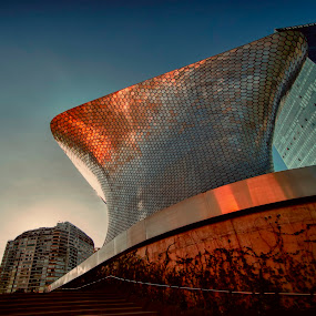 soumaya at sunset by Cristobal Garciaferro Rubio - Buildings & Architecture Other Exteriors ( musseum, mexico city, mexico, soumaya )