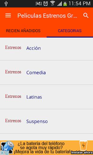 Ver Peliculas Estrenos screenshot 1