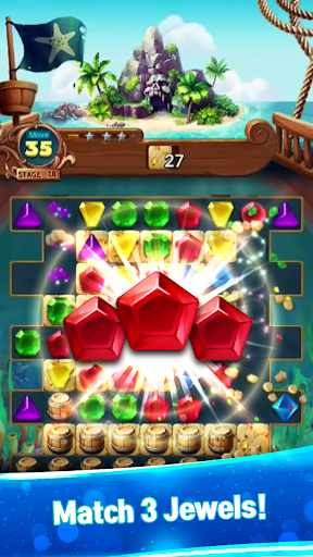Jewels Fantasy : Quest Match 3 Puzzle 1.3.6 screenshots 1