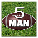 5 Man Flag Football Playbook icon
