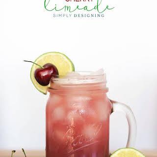 Homemade Cherry Limeade.