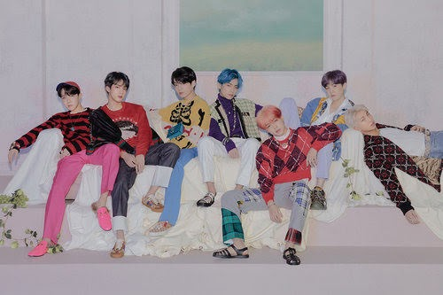 BTS released new come back album concept photos