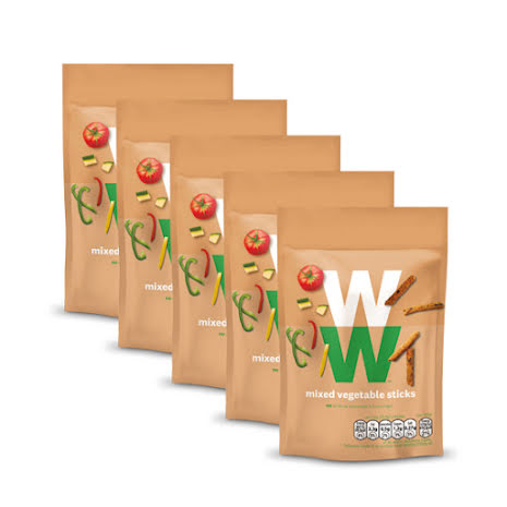 Grönsakspinnar - 5-pack