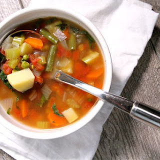 Easy Vegetable Soup.
