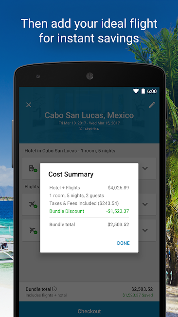 #3. Expedia Hotels, Flights & Cars (Android)