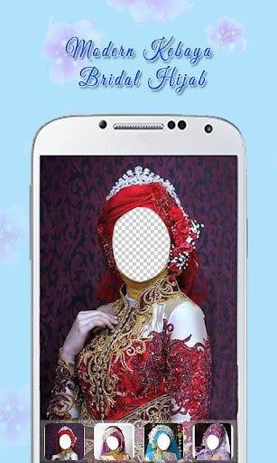Modern Kebaya Bridal Hijab