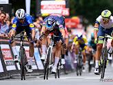 Tim Merlier moet na nipte sprint de overwinning aan Alvaro Hodeg laten in Belgische fusiekoers