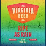Virginia Beer Co. Ripe As Rain