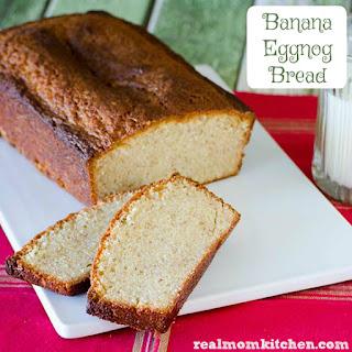 Banana Eggnog Bread