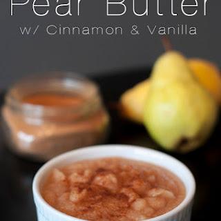 Pear Butter.