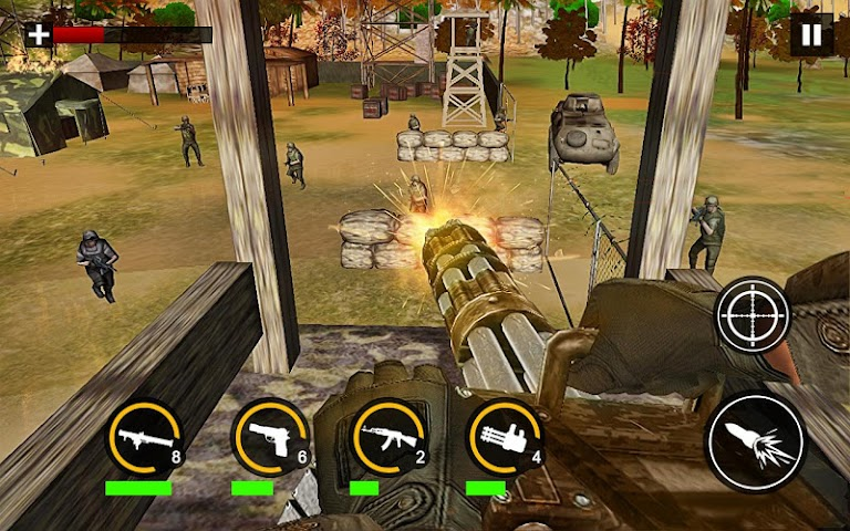 android Modern Commando Combat Shooter Screenshot 1