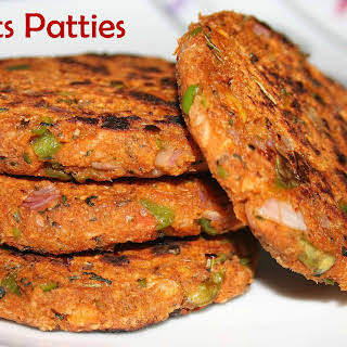 Healthy Oats Patties (For Burgers/Sandwiches).