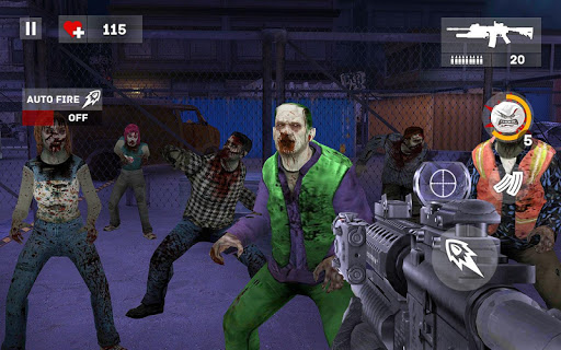 Dead Creeps: FPS Zombies Halt & Shooting Game 1.0.2 screenshots 3